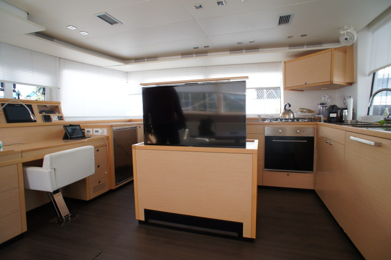 Preowned Sail Catamarans for Sale 2014 Lagoon 560 Layout & Accommodations