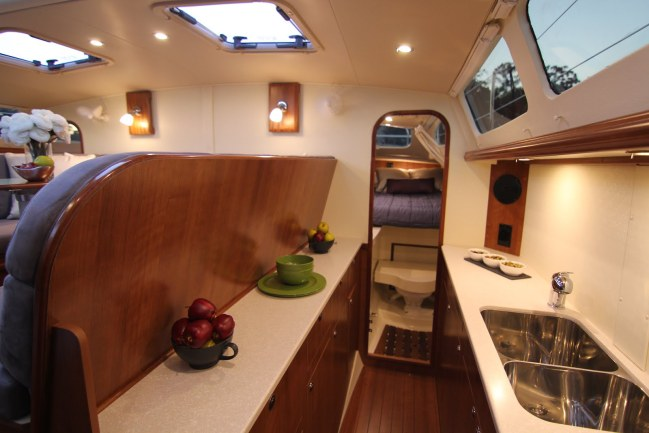 Preowned Sail Catamarans for Sale 2014 Legacy 35 Galley