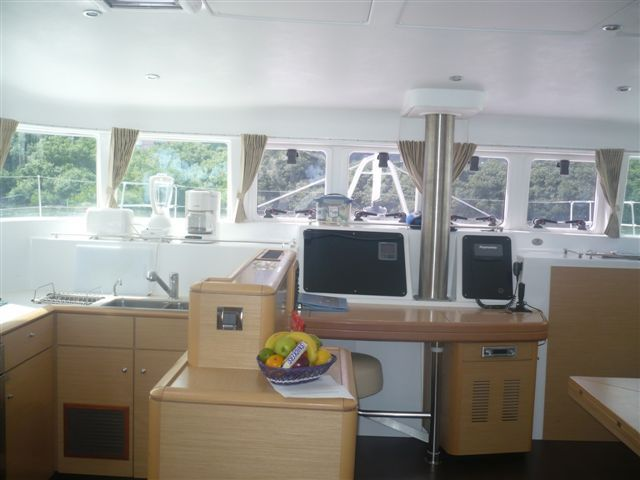 Preowned Sail Catamarans for Sale 2009 Lagoon 500 Layout & Accommodations
