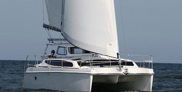 Used Sail Catamaran for Sale 2013 Legacy 35 Boat Highlights