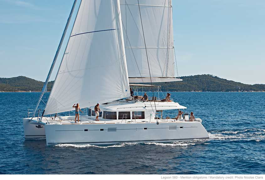 New Sail Catamaran for Sale 2017 Lagoon 560 S2 Boat Highlights