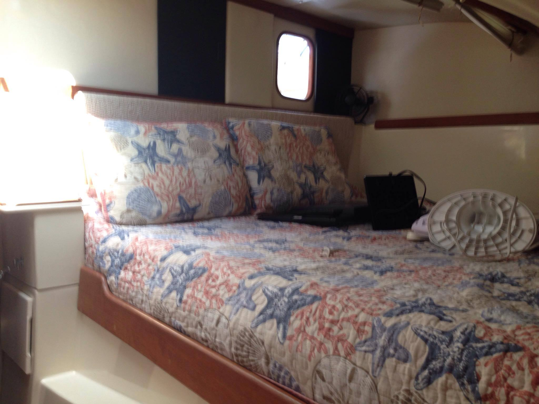 Preowned Sail Catamarans for Sale 2008 Gemini 105Mc Layout & Accommodations