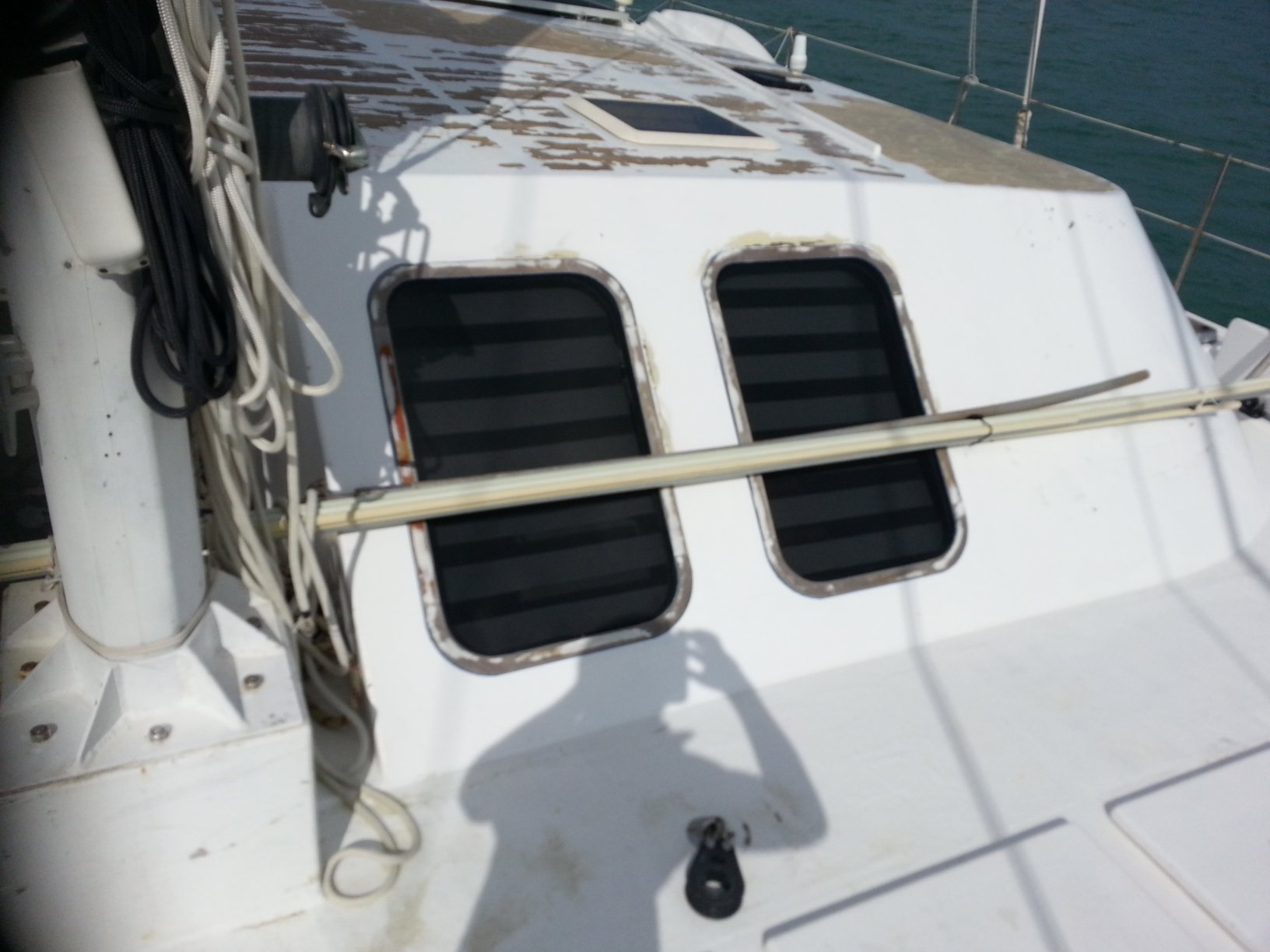 Preowned Sail Catamarans for Sale 2004 Custom 62 Deck & Equipment