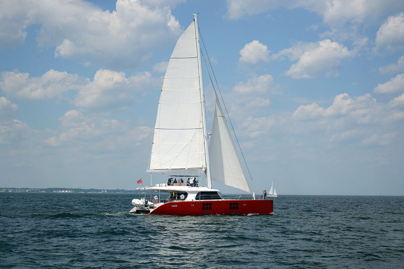 Launched Sail Catamarans for Sale  Sunreef 60 Loft Boat Highlights