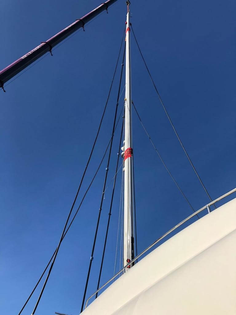 Used Sail Catamarans for Sale 2012 Sunreef 82 DD Sails & Rigging