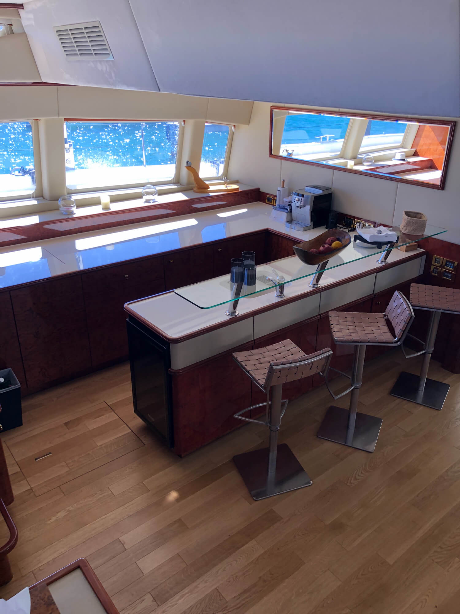 Used Sail Catamarans for Sale 2012 Sunreef 82 DD Layout & Accommodations