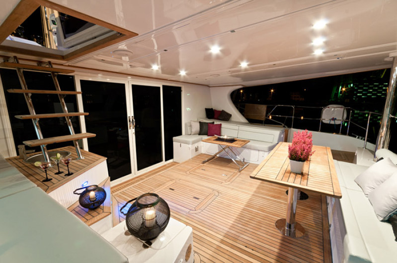 Launched Sail Catamaran for Sale  Sunreef 58 Boat Highlights