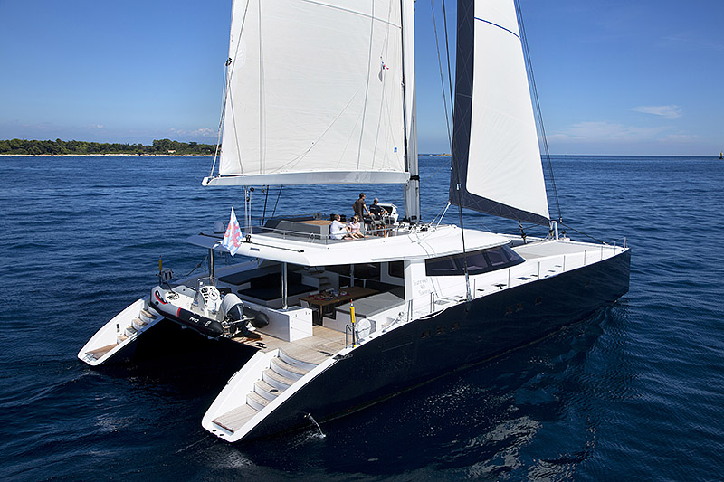 Launched Sail Catamarans for Sale  Sunreef 80 Carbon Line Boat Highlights
