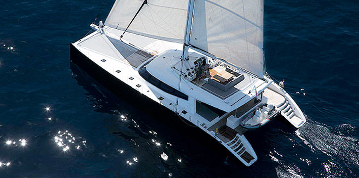 Launched Sail Catamaran for Sale  Sunreef 80 Carbon Line Boat Highlights