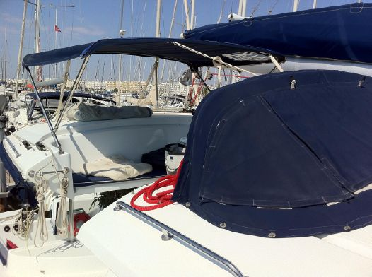 Used Sail Catamaran for Sale 2008 Salina 48 Deck & Equipment