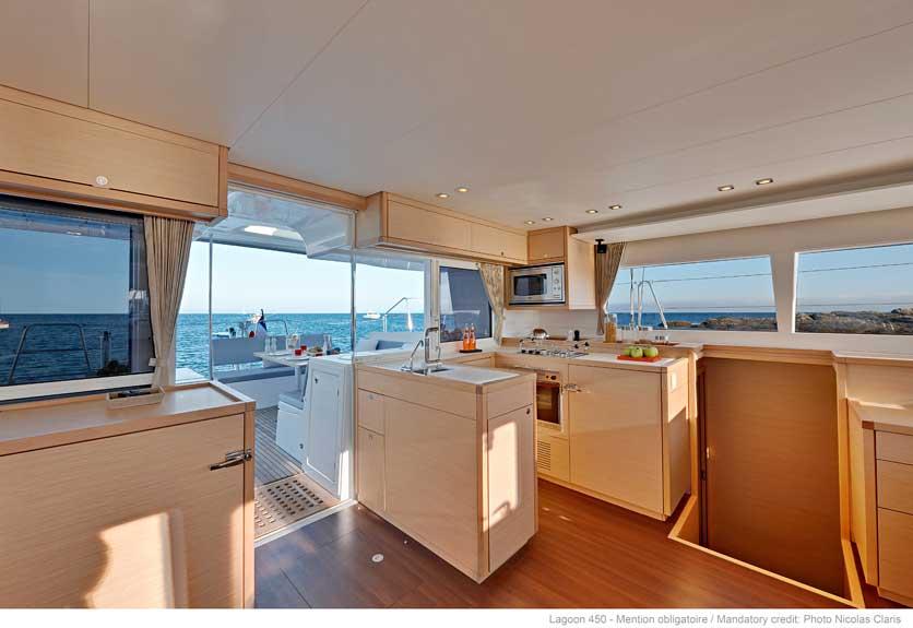 New Sail Catamarans for Sale 2018 Lagoon 450 Galley
