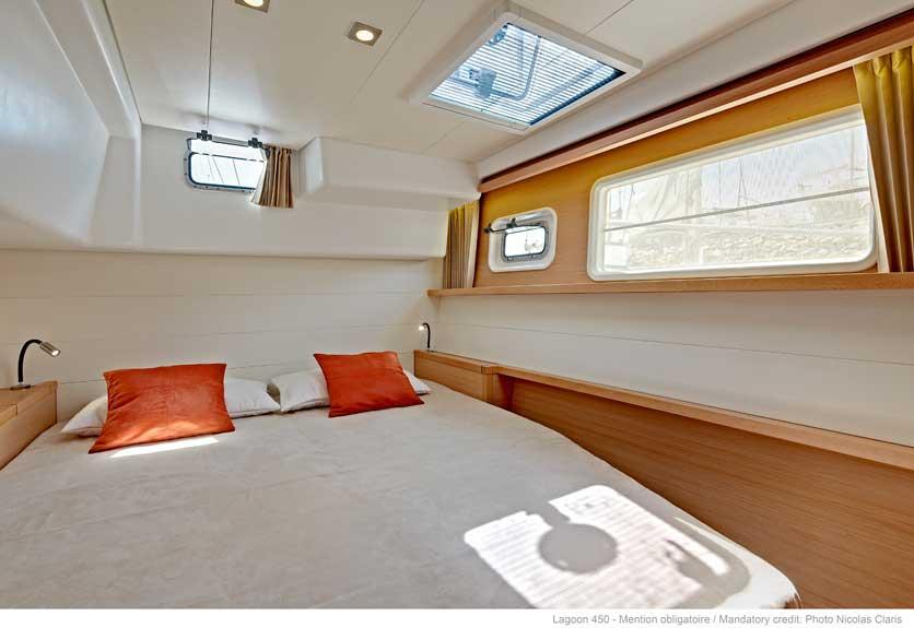 New Sail Catamaran for Sale 2018 Lagoon 450 Layout & Accommodations