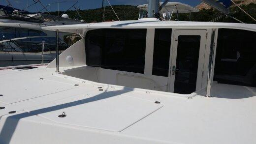 Preowned Sail Catamarans for Sale 2011 Leopard 44 Deck & Equipment