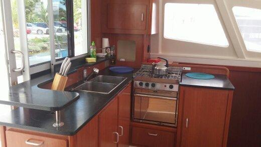 Preowned Sail Catamarans for Sale 2011 Leopard 44 Galley