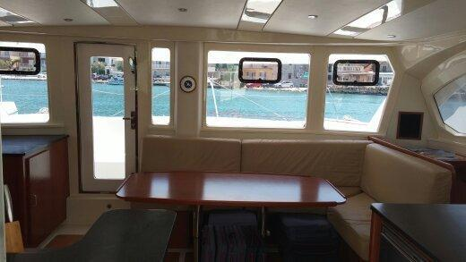 Used Sail Catamaran for Sale 2011 Leopard 44 Layout & Accommodations