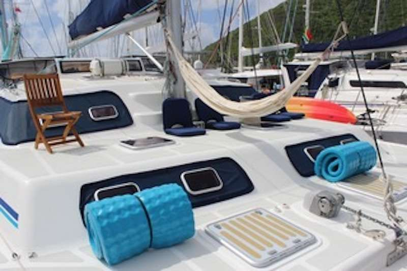 Used Sail Catamarans for Sale 2010 Majectic 530 Deck & Equipment