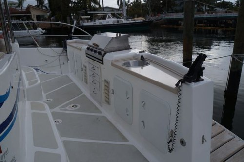 Used Sail Catamaran for Sale 2010 Majestic 530 Deck & Equipment