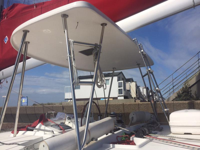 Used Sail Catamaran for Sale 2009 Lagoon 500 Deck & Equipment