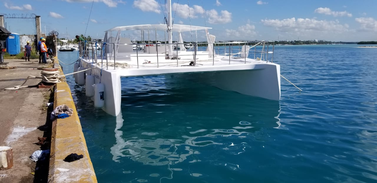 New Sail Catamaran for Sale  Day Charter 50 Boat Highlights