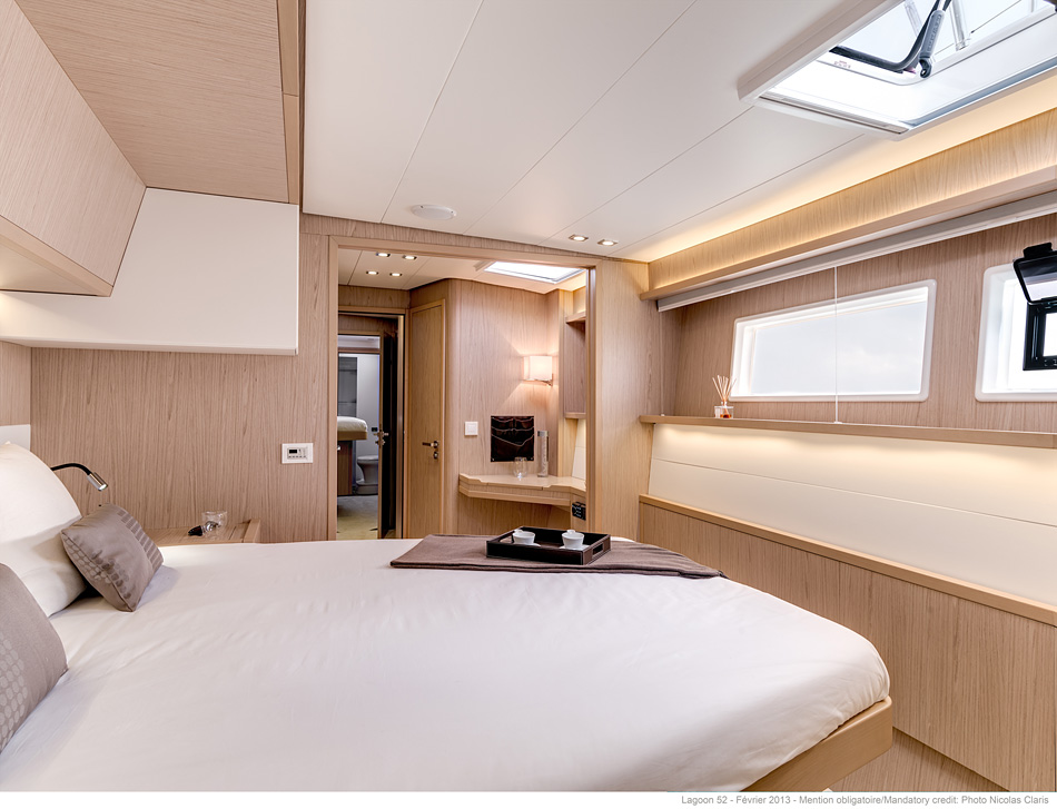 New Sail Catamarans for Sale 2019 Lagoon 52 F Layout & Accommodations