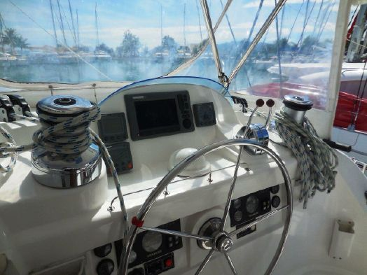 Preowned Sail Catamarans for Sale 2011 Leopard 46  Electronics & Navigation