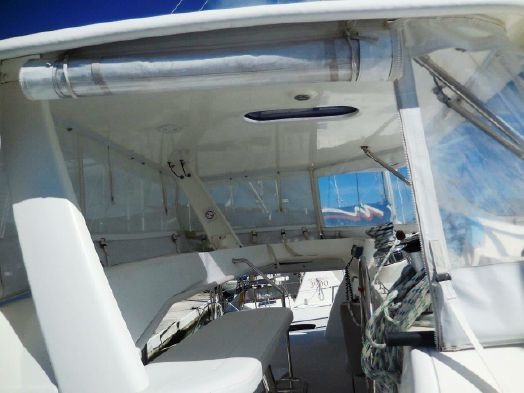 Preowned Sail Catamarans for Sale 2011 Leopard 46  Deck & Equipment