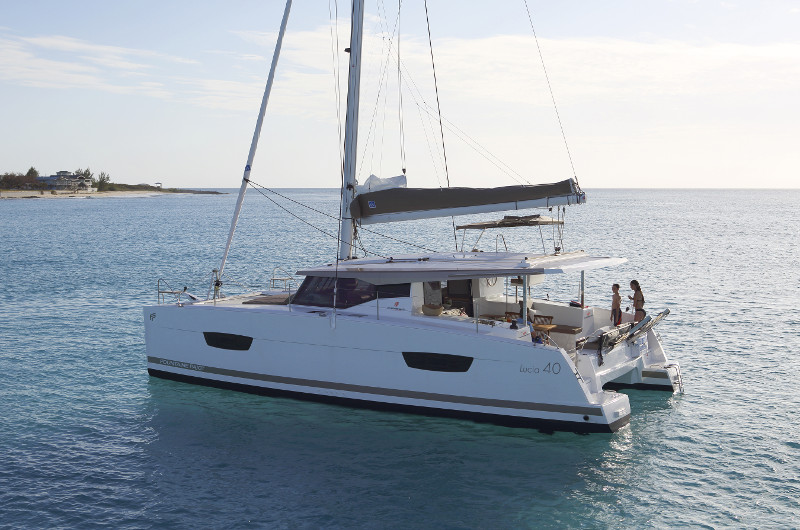 New Sail Catamaran for Sale  LUCIA 40 Boat Highlights