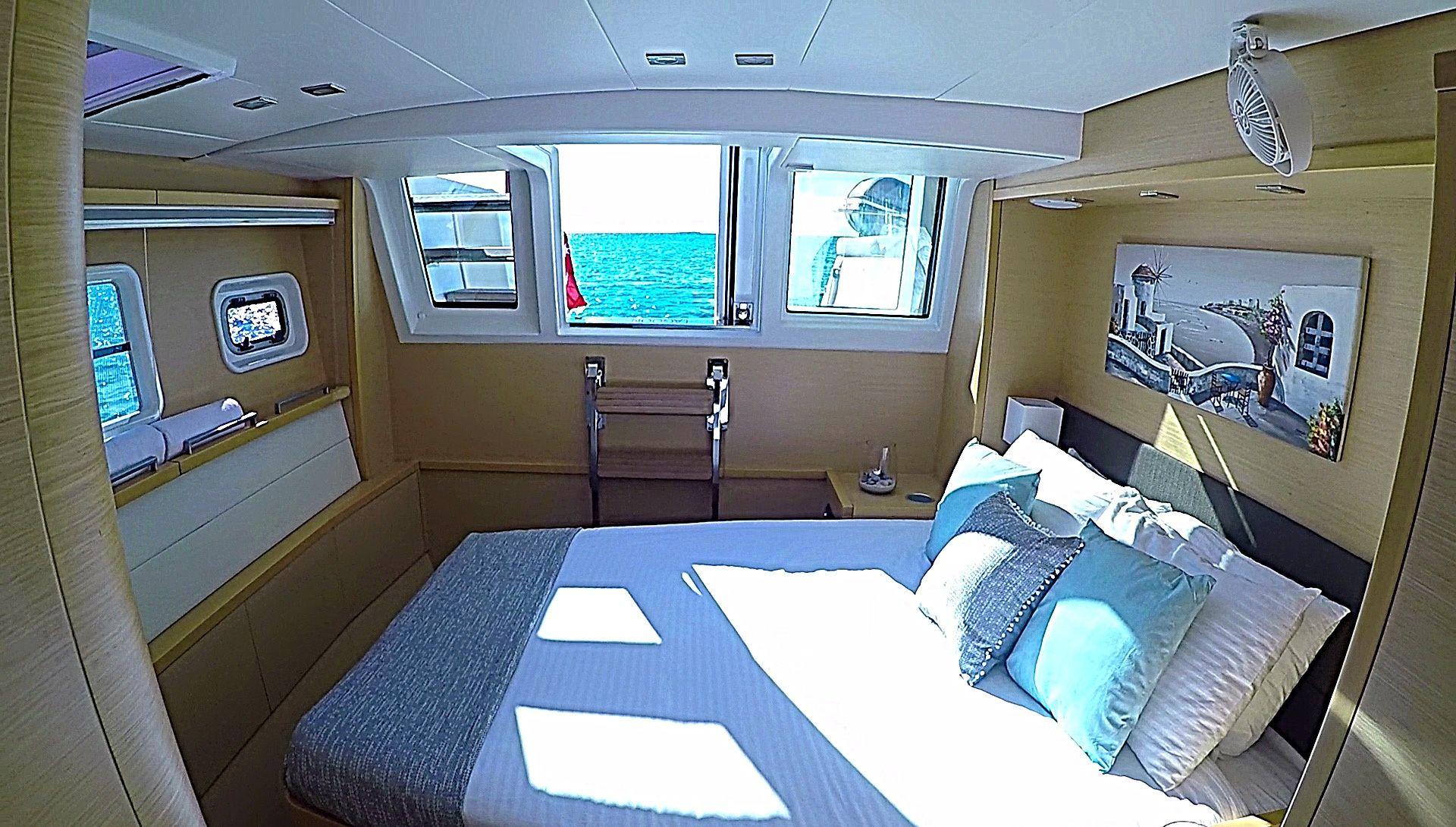 Used Sail Catamaran for Sale  Lagoon 620  Layout & Accommodations