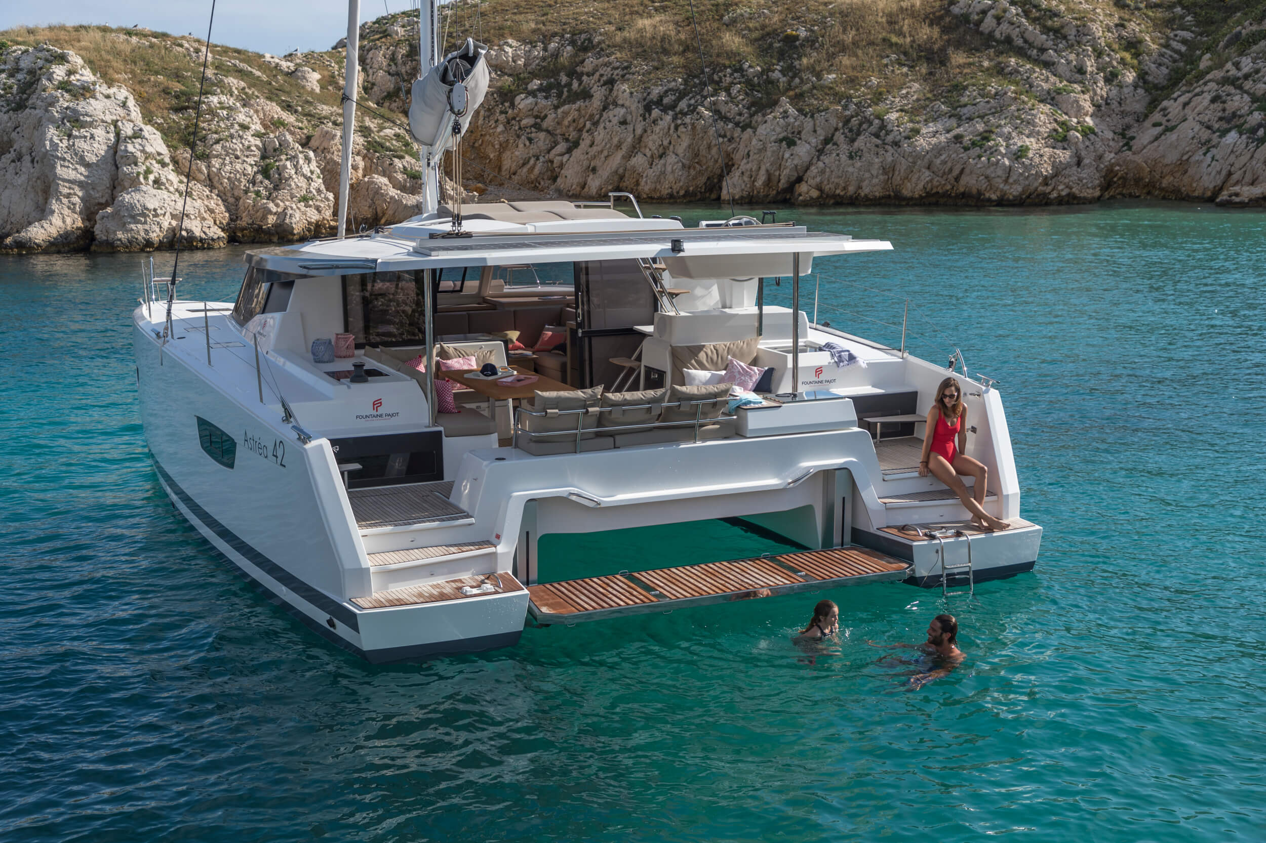 New Sail Catamarans for Sale 2019 Astrea 42 Boat Highlights