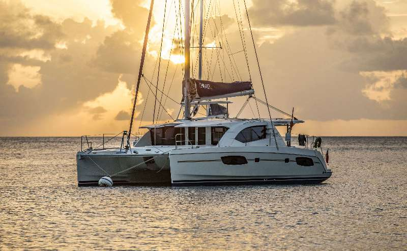 Used Sail Catamarans for Sale 2014 Leopard 44 Boat Highlights