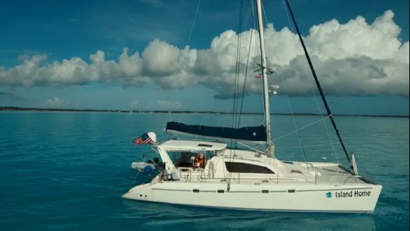 Used Sail Catamarans for Sale 2003 Leopard 47 Boat Highlights