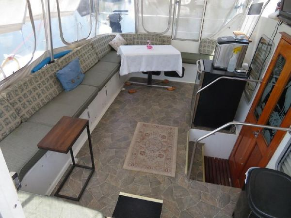 Used Power Catamarans for Sale 1985 C&C Logical 46 Deck & Equipment