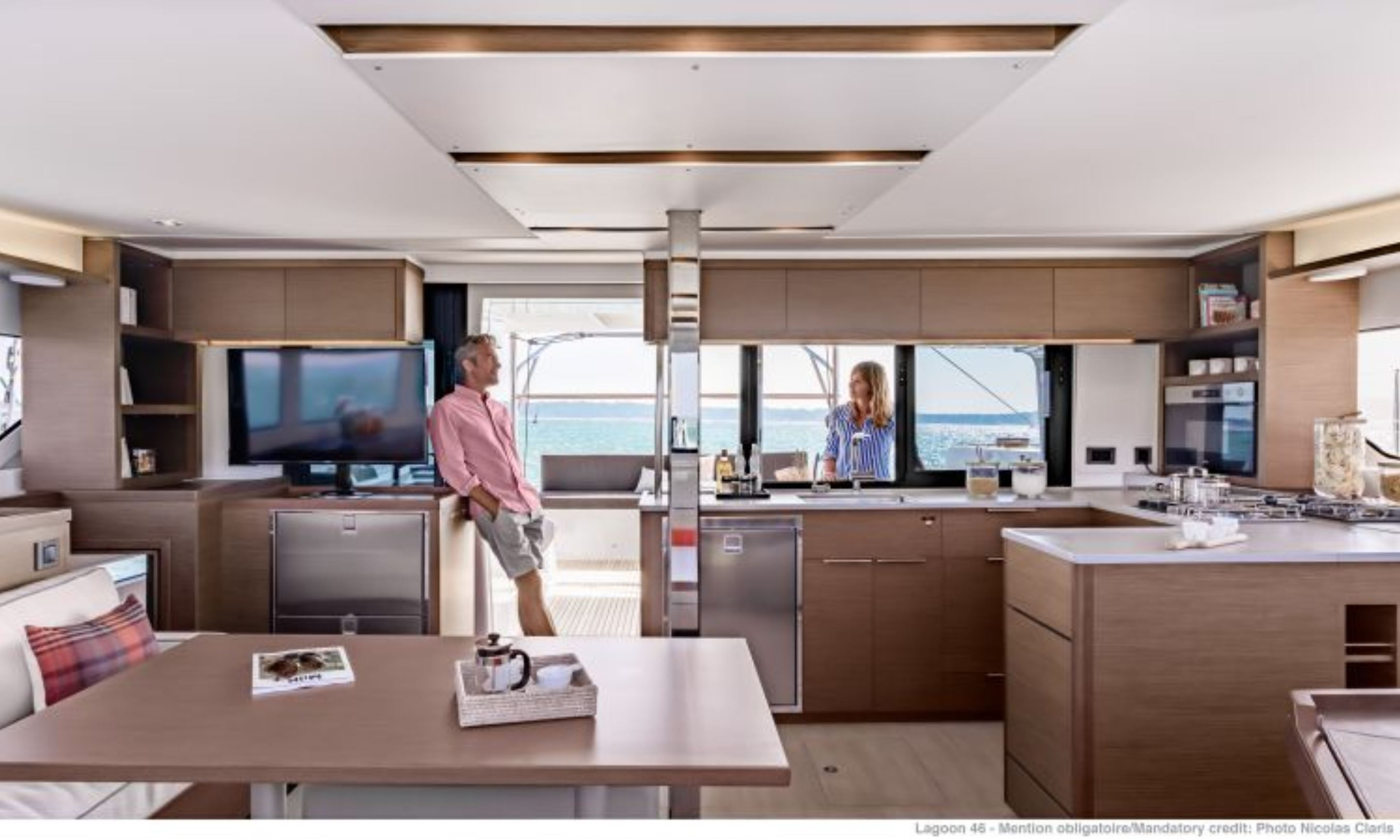New Sail Catamarans for Sale 2021 Lagoon 46 Layout & Accommodations