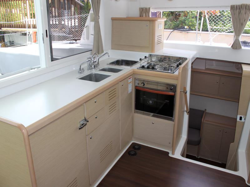 Preowned Sail Catamarans for Sale 2010 Lagoon 421 Galley