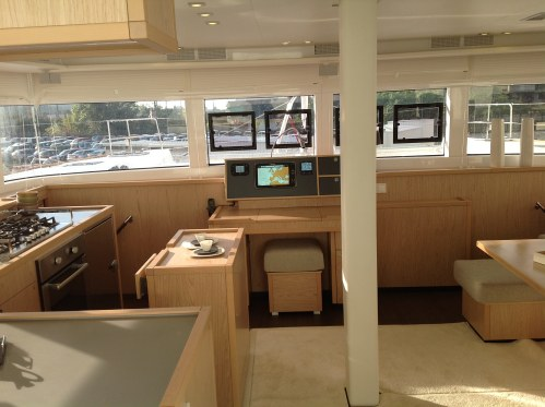 Used Sail Catamaran for Sale 2017 Lagoon 52 Layout & Accommodations