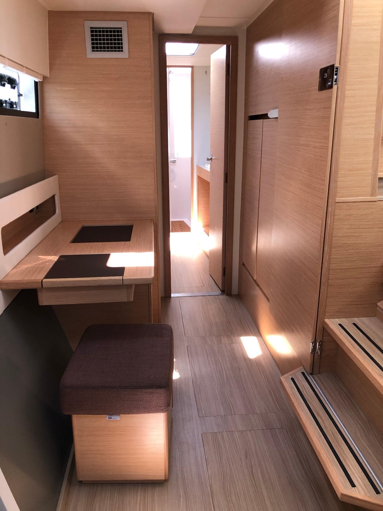 New Sail Catamaran for Sale 2019 Nautitech 40 Open Layout & Accommodations
