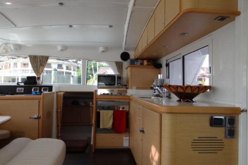 Preowned Sail Catamarans for Sale 2009 Lagoon 440 Galley