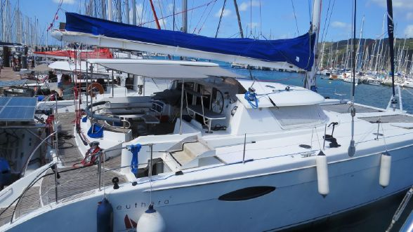 Preowned Sail Catamarans for Sale 2007 Eleuthera Boat Highlights