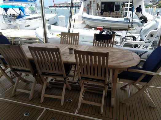 Used Sail Catamarans for Sale 2013 Leopard 58 Deck & Equipment