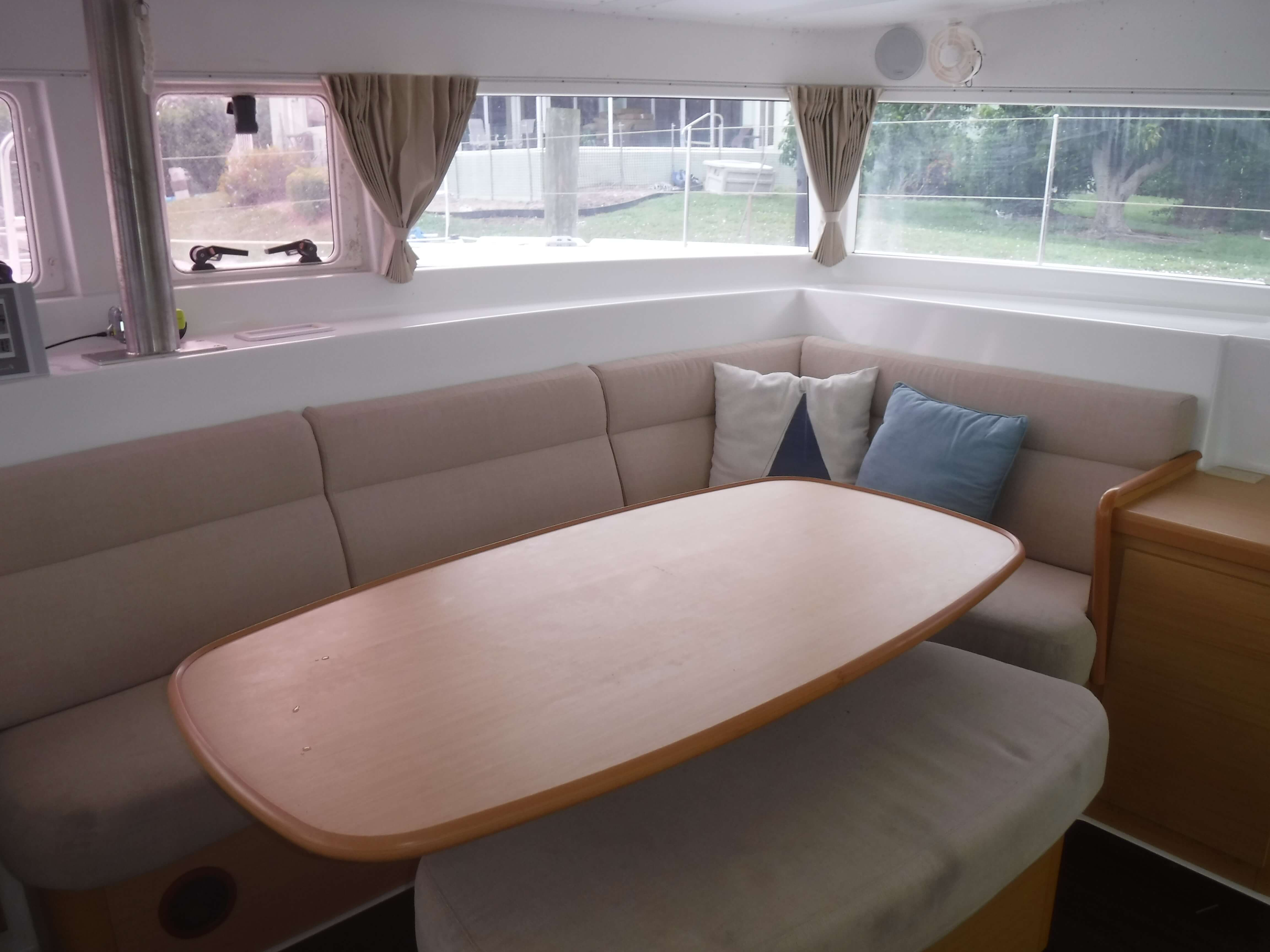 Used Sail Catamaran for Sale 2009 Lagoon 420 Layout & Accommodations