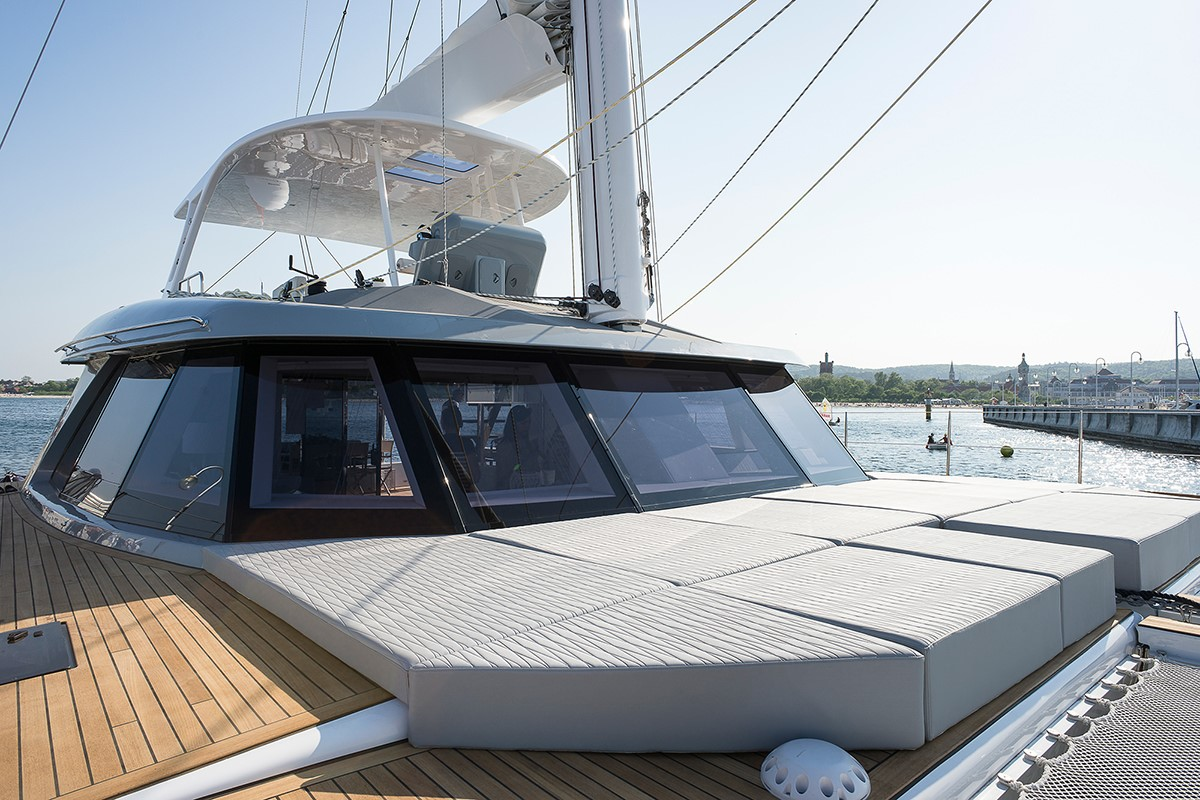Launched Sail Catamarans for Sale 2017 Custom 62 Deck & Equipment