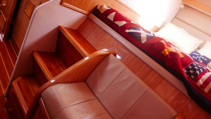 Preowned Sail Catamarans for Sale 2011 St. Francis 50 Layout & Accommodations