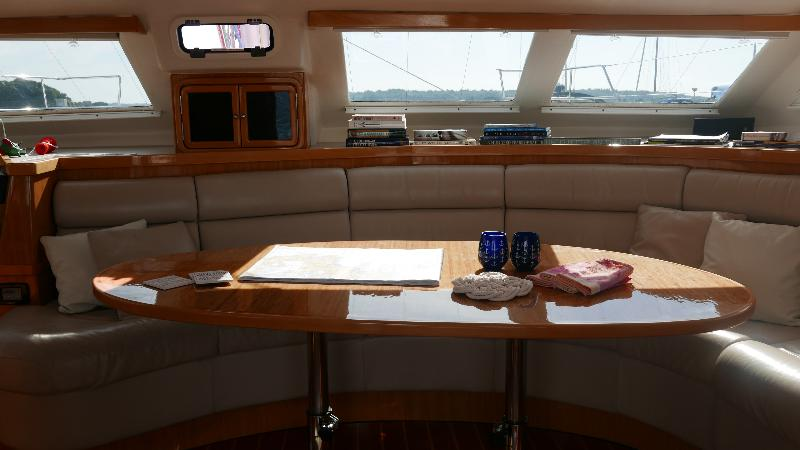 Used Sail Catamaran for Sale 2011 St. Francis 50 Layout & Accommodations