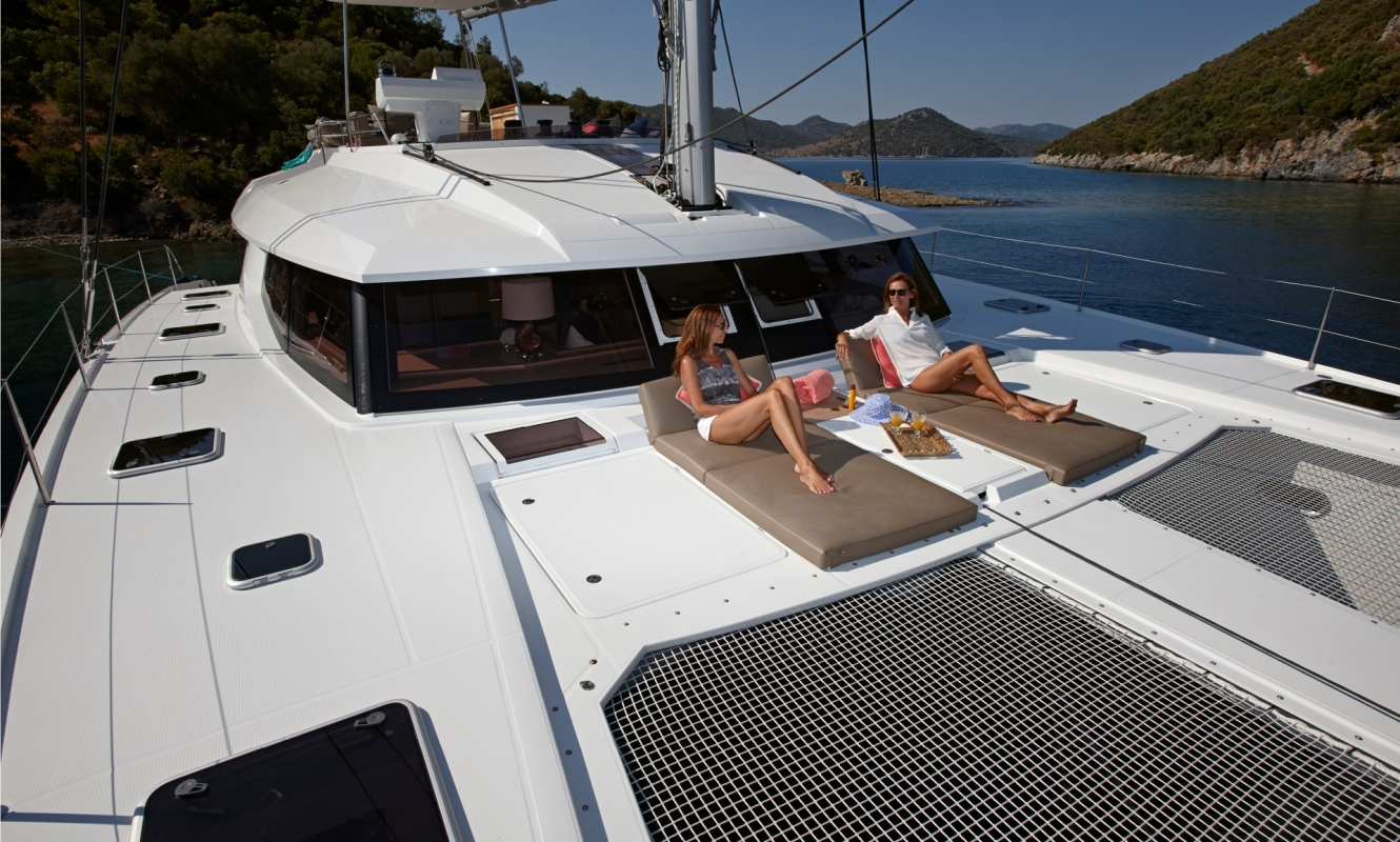 New Sail Catamarans for Sale  IPANEMA 58 Deck & Equipment