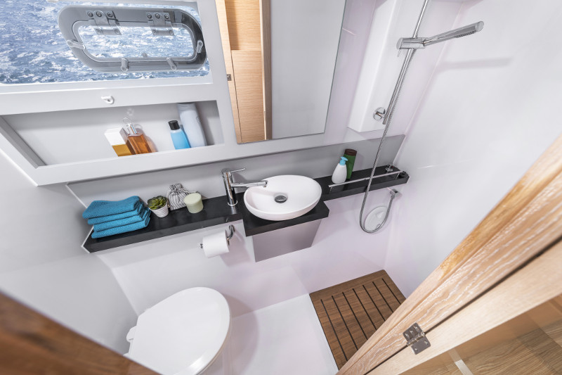 New Sail Catamaran for Sale  Nautitech 40 Open Electrical, Power & Plumbing