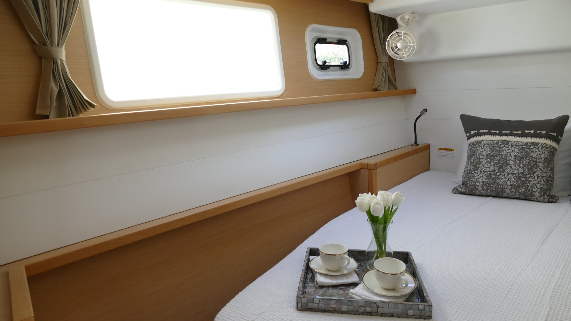 Used Sail Catamaran for Sale 2017 Lagoon 450 F Layout & Accommodations