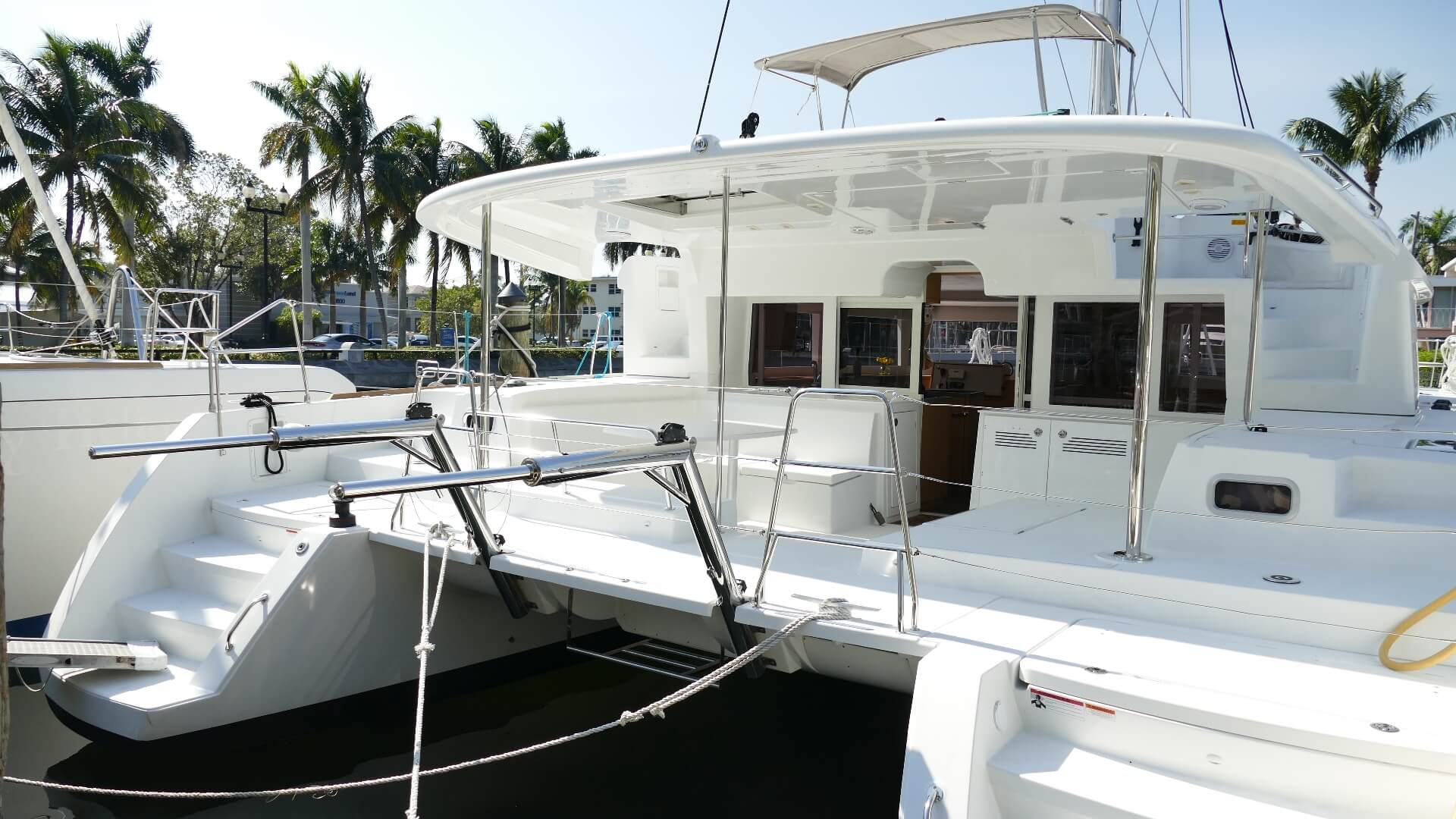 Used Sail Catamaran for Sale 2017 Lagoon 450 F Boat Highlights