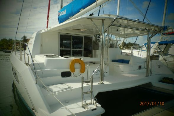 Preowned Sail Catamarans for Sale 2012 Leopard 44 Boat Highlights