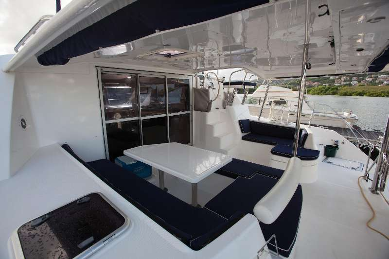 Preowned Sail Catamarans for Sale 2014 Leopard 44 Deck & Equipment