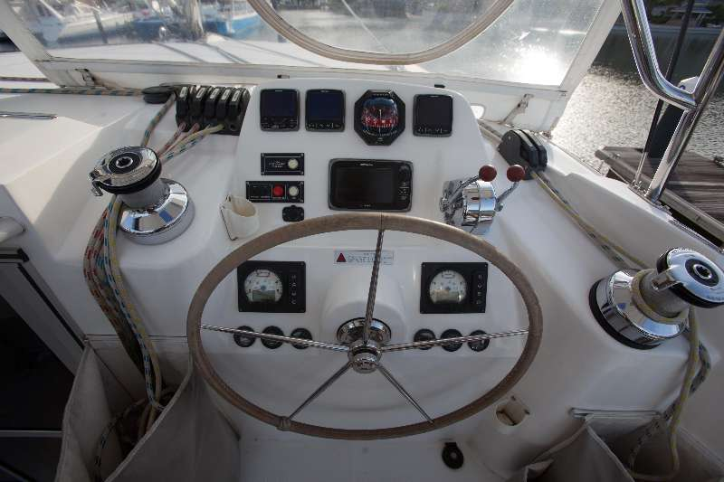 Preowned Sail Catamarans for Sale 2014 Leopard 44 Electronics & Navigation